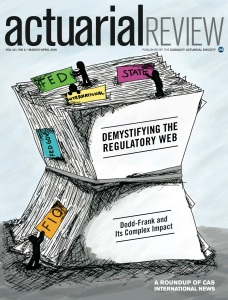 Actuarial Review March April 2016 Cover